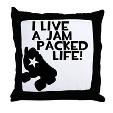 Jammer - Jam Packed Life Throw Pillow