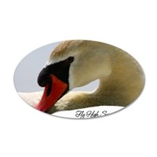 Swan Calendar Cover Wall Decal
