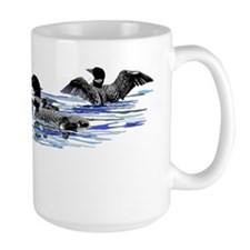 lots of loons laptop Mug