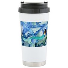 Dolphins and Mermaid party Travel Mug
