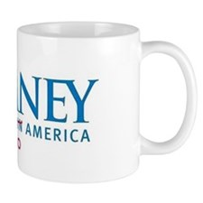Anti-Romney Small Mug