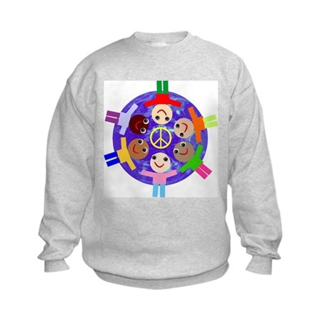 World Peace Kids Sweatshirt