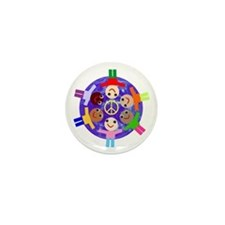 World Peace Mini Button (100 pack)