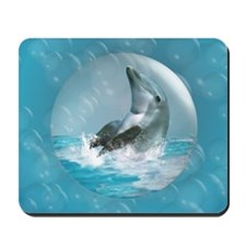 Bubble Dolphin Mousepad