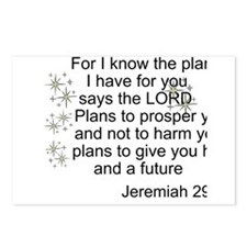 Jeremiah 29 Postcards (Package of 8)