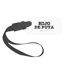 SPANISH SLANG - HIJO DE PUTA - S Luggage Tag