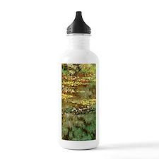 Claude Monet Water Lil Water Bottle