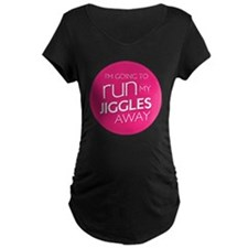 run my jiggles away T-Shirt