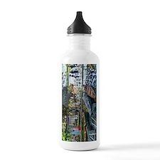 Monet Bathers at La Gr Water Bottle