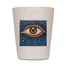 Eyeball Starburst Shot Glass