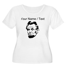 Custom Abraham Lincoln Plus Size T-Shirt
