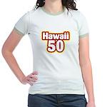 Hawaii 50 Jr. Ringer T-Shirt