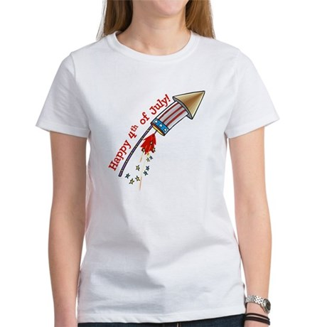 4th of July Rocket Women's T-Shirt