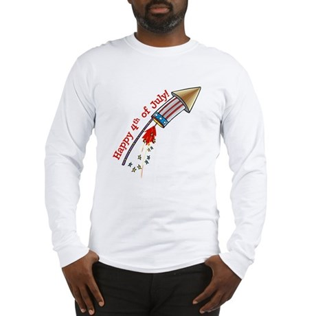 4th of July Rocket Long Sleeve T-Shirt