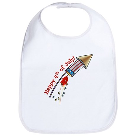 4th of July Rocket Bib