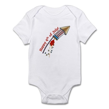 4th of July Rocket Infant Bodysuit