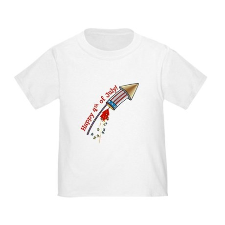 4th of July Rocket Toddler T-Shirt