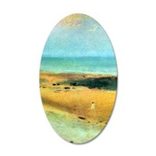 Edgar Degas Beach At Low Tid Wall Decal