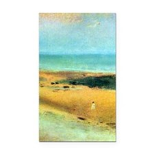 Edgar Degas Beach At Low Tide Rectangle Car Magnet