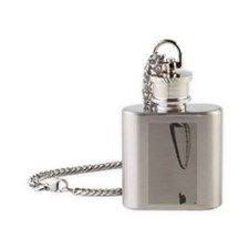 Ground Handling iPhone Case Flask Necklace