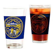 state-flag-of-nebraska_w725_h435 Drinking Glass