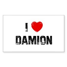 I * Damion Rectangle Decal