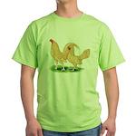 Buff Old English Bantams Green T-Shirt