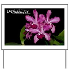 2012 Orchid Oversized Wall Calendar Cove Yard Sign