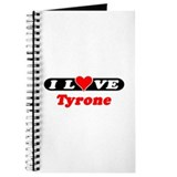 I Love Tyrone Journal