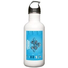 impact mapping cheat s Water Bottle