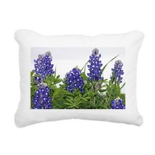Texas bluebonnet pillowc Rectangular Canvas Pillow