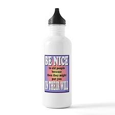 BeNiceNoteCard-a Water Bottle