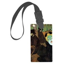 Toulouse-Lautrec At the Moulin R Luggage Tag