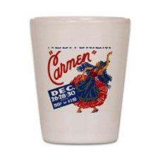 Vintage Carmen Opera Shot Glass