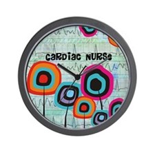 cardiac nurse iphone funky 2 Wall Clock