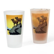 National Parks: Preserve Wild Life Drinking Glass