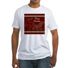 Christmas raindeer gold 2 merry Shirt
