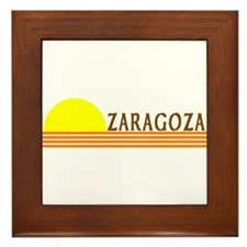 Zaragoza, Spain Framed Tile