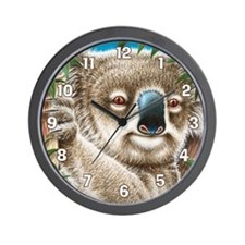 koala large  Wall Clock