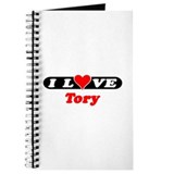 I Love Tory Journal