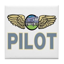 RV Pilot Tile Coaster
