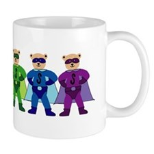 Rainbow Super Bears (for dark shirts) Mug