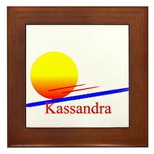 Kassandra Framed Tile