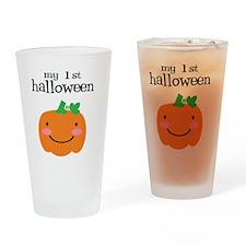 My First Halloween Drinking Glass