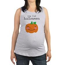 My First Halloween Maternity Tank Top