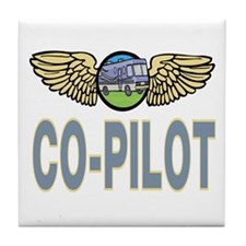 RV Co-Pilot Tile Coaster