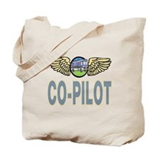 RV Co-Pilot Tote Bag