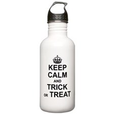 Keep Calm - Trick or T Water Bottle