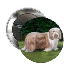 "Bearded Collie 2.25"" Button (10 pack)"