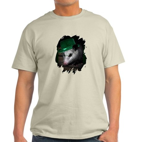 St. Patrick's Day Possum Light T-Shirt